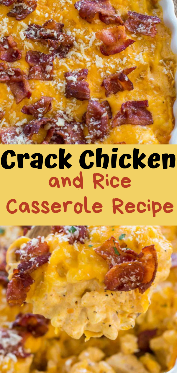 Healthy Recipes | Crack Chicken and Rice Casserole Recipe, Healthy Recipes For Weight Loss, Healthy Recipes Easy, Healthy Recipes Dinner, Healthy Recipes Pasta, Healthy Recipes On A Budget, Healthy Recipes Breakfast, Healthy Recipes For Picky Eaters, Healthy Recipes Desserts, Healthy Recipes Clean, Healthy Recipes Snacks, Healthy Recipes Low Carb, Healthy Recipes Meal Prep, Healthy Recipes Vegetarian, Healthy Recipes Lunch, Healthy Recipes For Kids, Healthy Recipes Crock Pot, Healthy Recipes Videos, Healthy Recipes Weightloss, Healthy Recipes Chicken, Healthy Recipes Heart, Healthy Recipes For One, Healthy Recipes For Diabetics, Healthy Recipes Smoothies, Healthy Recipes For Two, Healthy Recipes Simple, Healthy Recipes For Teens, Healthy Recipes Protein, Healthy Recipes Vegan, Healthy Recipes For Family, Healthy Recipes Salad, Healthy Recipes Cheap, Healthy Recipes Shrimp, Healthy Recipes Paleo, Healthy Recipes Delicious, Healthy Recipes Gluten Free, Healthy Recipes Steak, Healthy Recipes For School, Healthy Recipes Slimming World, Healthy Recipes Fitness, Healthy Recipes Baking, Healthy Recipes Sweet, Healthy Recipes Indian, Healthy Recipes Summer, Healthy Recipes Vegetables, Healthy Recipes Diet, Healthy Recipes No Meat, Healthy Recipes Asian, Healthy Recipes On The Go, Healthy Recipes Fast, Healthy Recipes Ground Turkey, Healthy Recipes Rice, Healthy Recipes Mexican, Healthy Recipes Fruit, Healthy Recipes Tuna, Healthy Recipes Sides, Healthy Recipes Zucchini, Healthy Recipes Broccoli, Healthy Recipes Spinach,  #healthyrecipes #recipes #food #appetizers #dinner #crack #chicken #rice #casserole