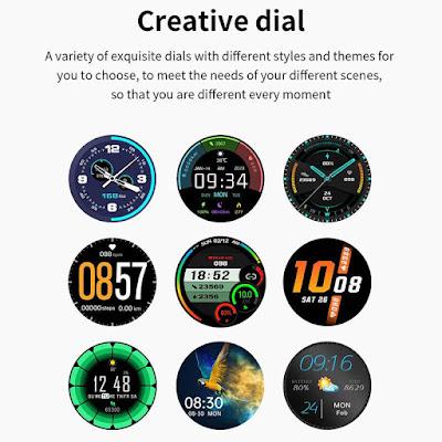 Regalo di natale smartwatch watch faces