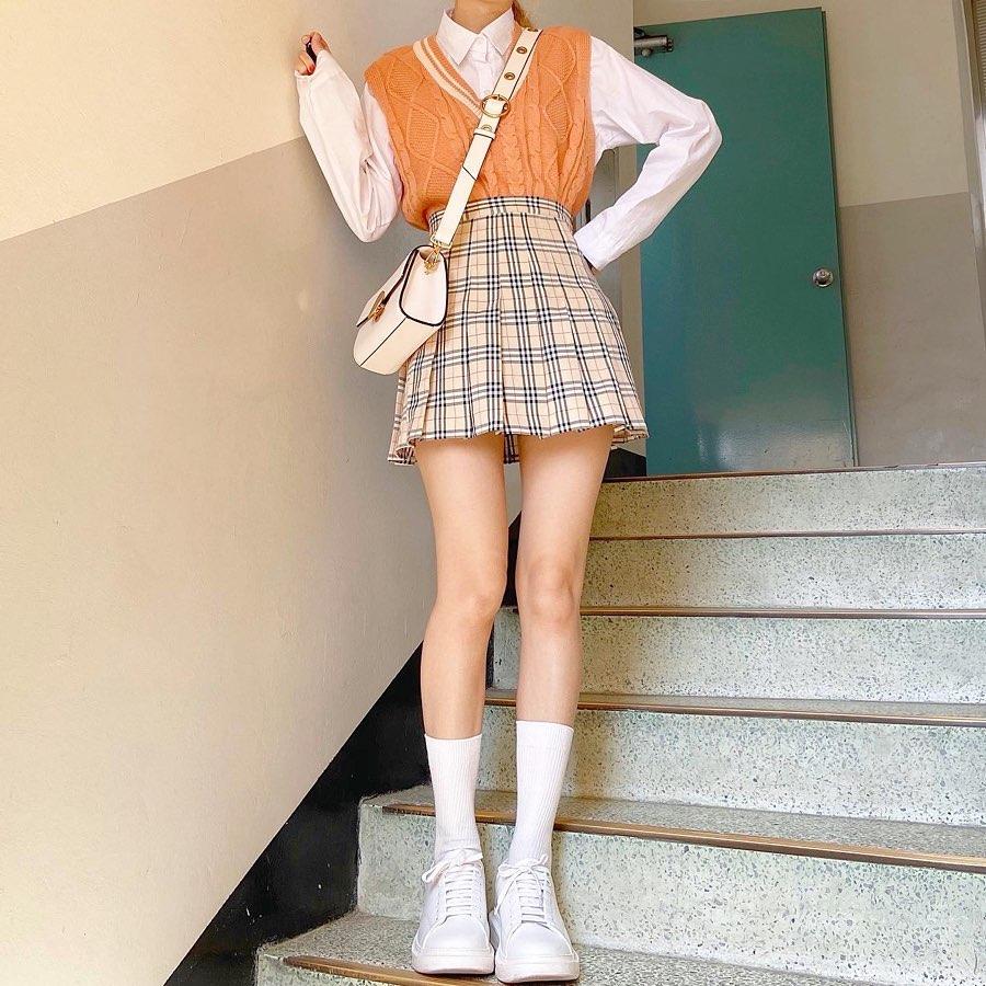 Estilo coreano feminino girly