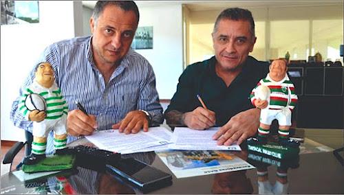 Mimessi y Parra firman el convenio de cooperación entre Uni de Salta y Tartagal RC