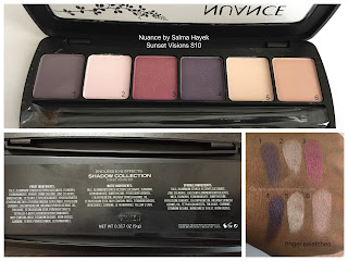 Nuance by Salma Hayek Eyeshadow Palette Sunset Visions