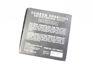 Sabun Wajah MSI Ulive Beauty Bamboo Charcoal Brightening Soap 100gr