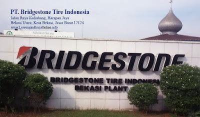 Lowongan Loker Bridgestone Tire Indonesia