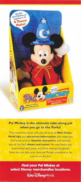Pal Mickey Informational Pamphlet Walt Disney World