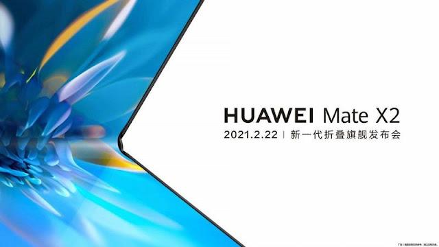 إطلاق Huawei Mate X2