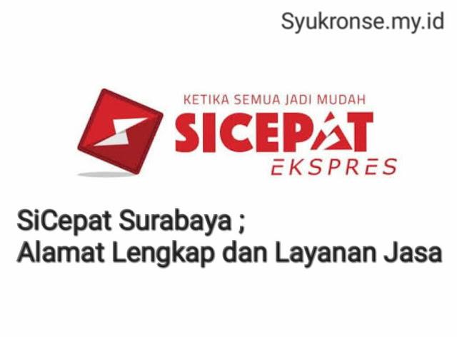 SiCepat Surabaya, SiCepat Surabaya barat