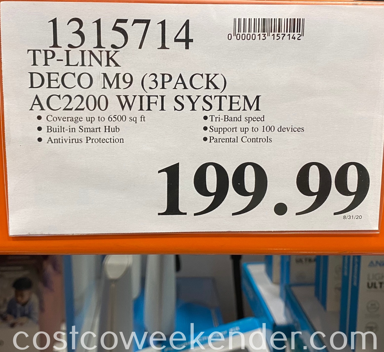 Deal for the TP-Link Deco M9 Plus AC2200 Wi-Fi System at Costco