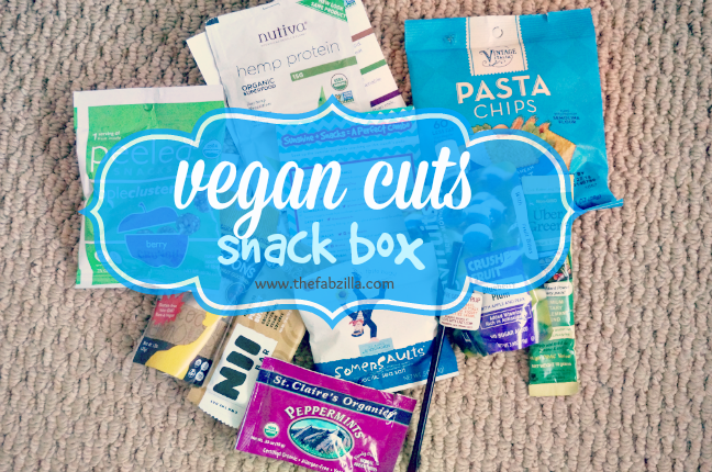 Vegan Cuts Snack Box, vegan food, vegan snacks, review