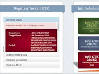 Cek Info GTK Periode Januari – Juli 2020 (Validasi Data Guru)