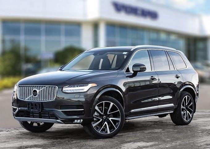 Volvo XC90 Excellence 2021. Màu đen. Mới 98%