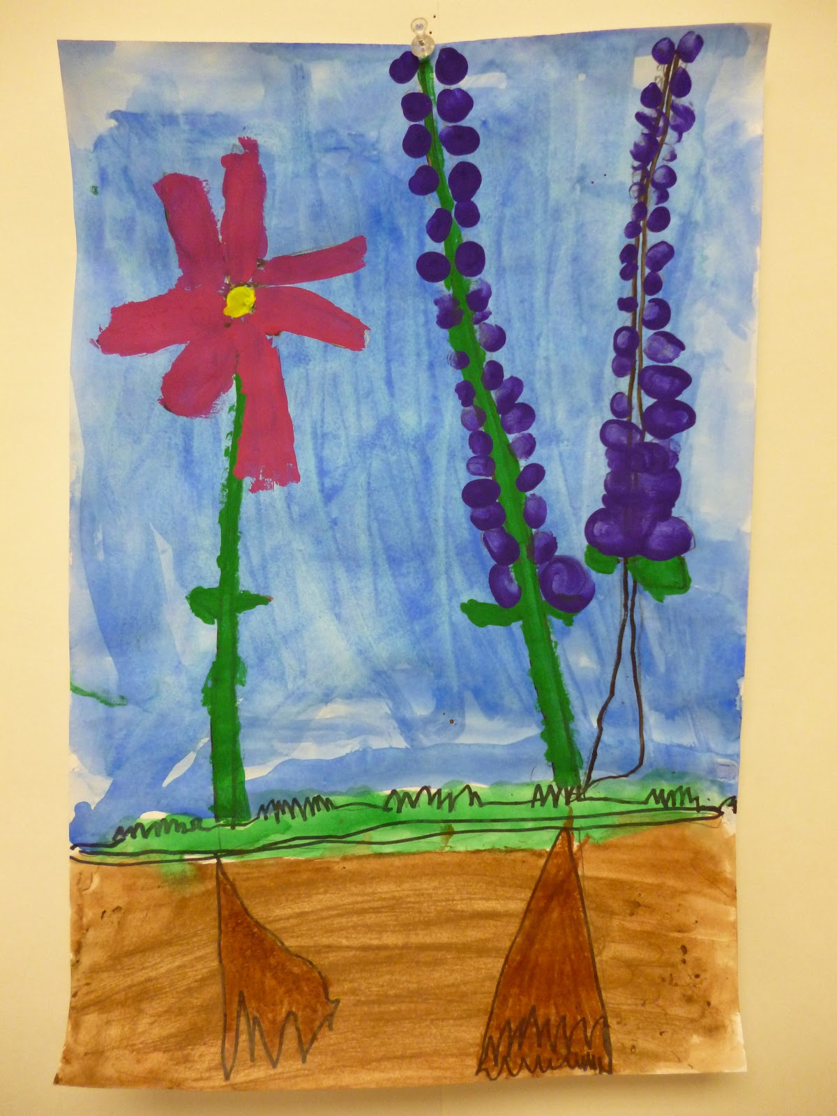 Kindergarten Flowers Yay For Spring