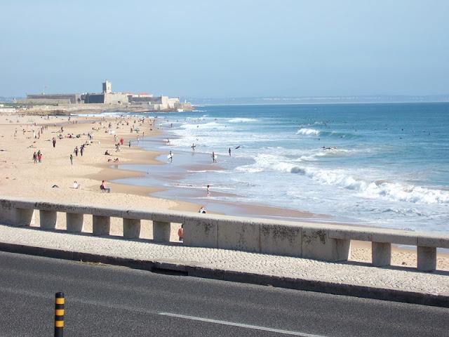Mar da Praia de Carcavelos