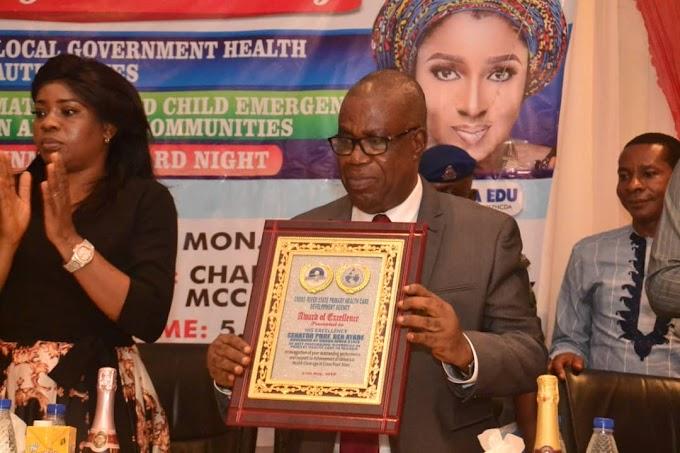 Ayade bags Best Healthcare Governor in Nigeria Award