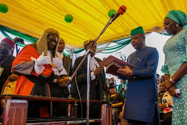 IHEDIOHAMMA ''That which is good for the people'' Read Full Text Of Ihedioha's Inauguration Speech (ELITISM6 EXCLUSIVE)