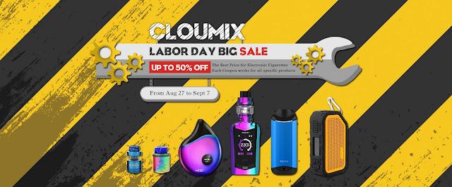 2018 Labor Day Vape Pod Kit Sales | 50% Off Coupon