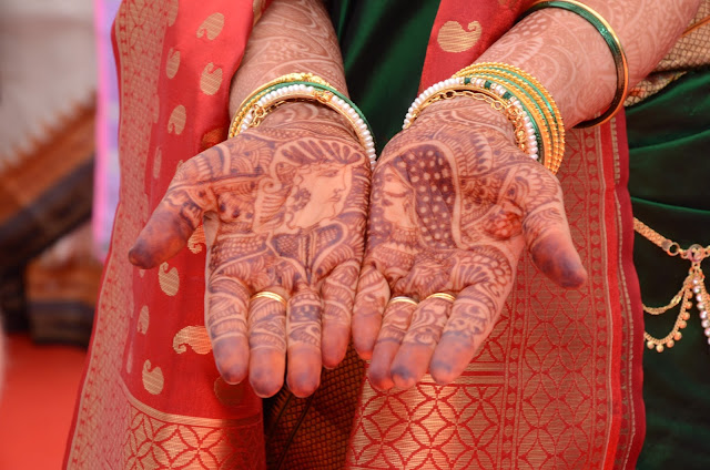 Mehendi podczas ślubu - grudzień 2015