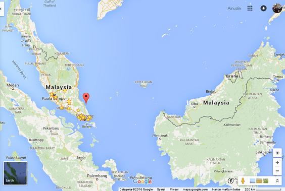 Besar Island, Malaysia