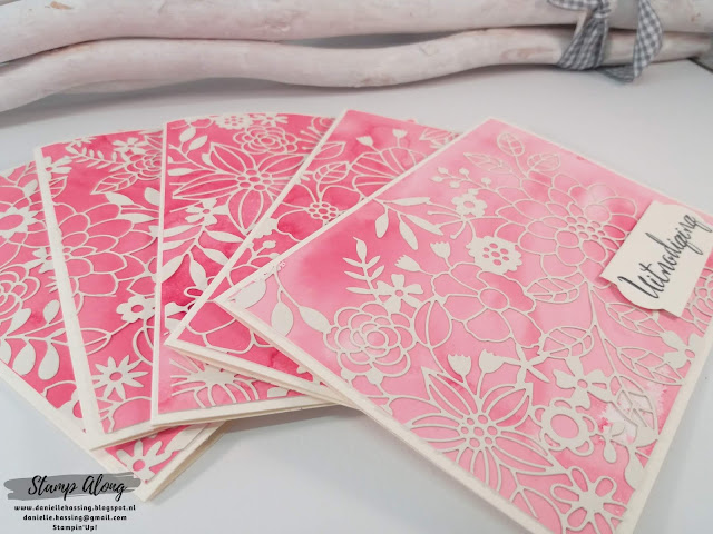 Stampin'Up! Delightfully detailed laser cut specialty paper
