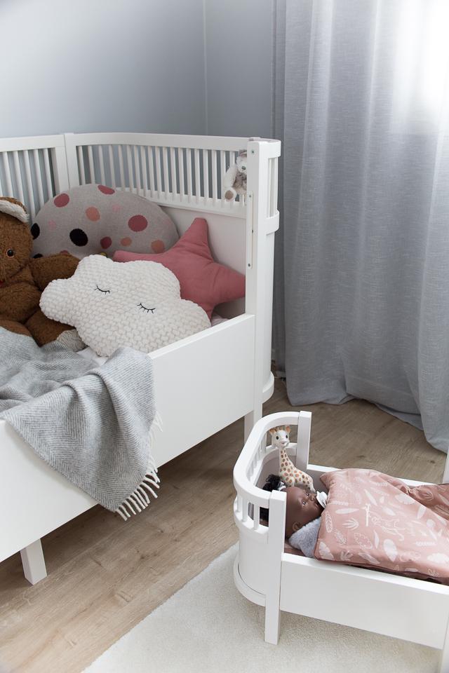 Villa H, taaperon lempilelut, nukke,Sebra Interior, nukensänky