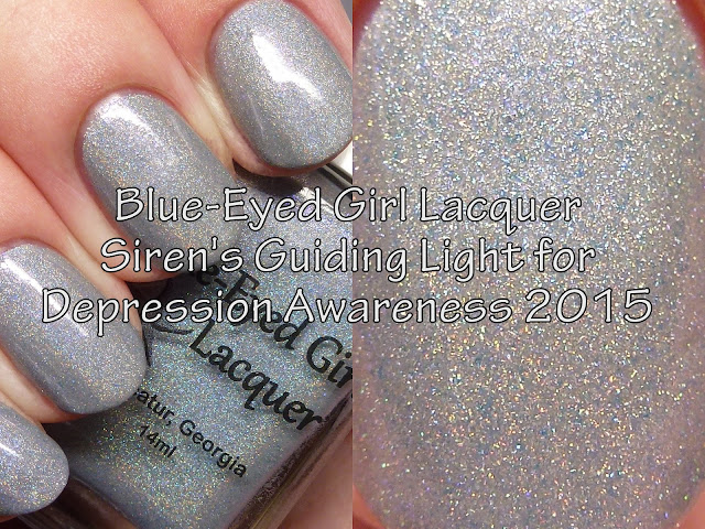 Blue-Eyed Girl Lacquer Siren's Guiding Light