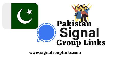 Pakistan Signal Group Links List