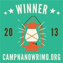 Camp NaNoWriMo, July 2013