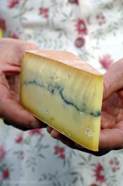 Morbier Käse aus dem Franche-Comté