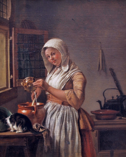 18th Century Dutch Paintings of Women