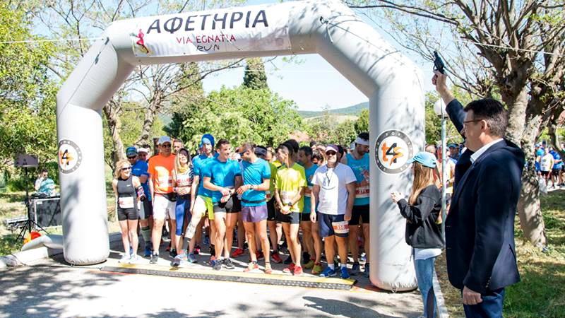 Αλεξανδρούπολη: Με επιτυχία και μεγάλη συμμετοχή ο αγώνας δρόμου Via Egnatia Run