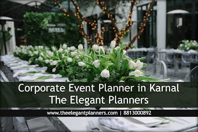 Corporate event with The Elegant Planners