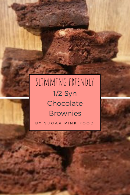 1/2 Syn Chocolate Brownies Recipe | Slimming Friendly