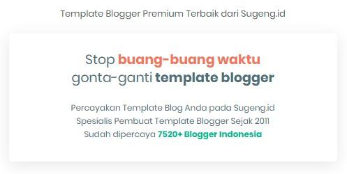 Tempat Beli Template Blogger Terbaik untuk Ngeblog