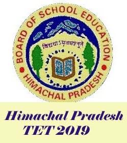HPBOSE TET 2019, HP TET Notification 2019, Himachal Pradesh TET 2019 Application form