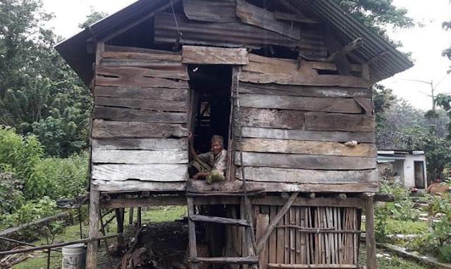 Ini DIa Kisah Kakek Viral di Medsos, Rumahnya Didata Tapi Tak Dapat Bantuan