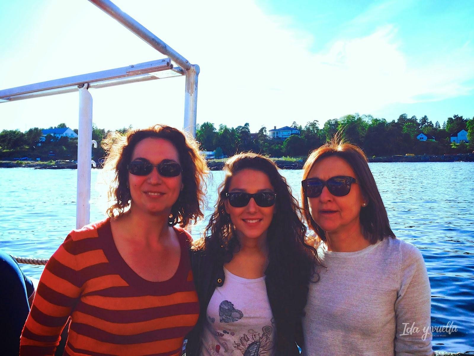 36 horas Oslo Belén, María José y yo