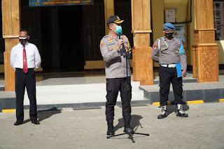 Dalam rangka menyambut perayaan Natal Tahun 2020 dan Tahun Baru 2021, Kepala Kepolisian Resor Toraja Utara AKBP YUDHA WIRAJATI, S.IK.,M.H mengeluarakan Himbauan tentang Peningkatan Kepatuhan Terhadap Protokol Kesehatan, Rabu (16/12/2020).