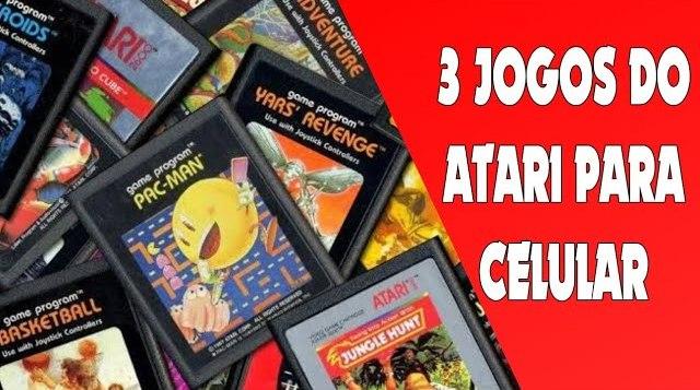 3 jogos do atari para android disponível na play store