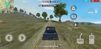 Free fire All Vehicles Name