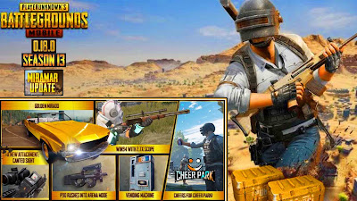 PUBG Mobile New Update 0.18.0 All Features: Season 13, Mad Miramar 2.0
