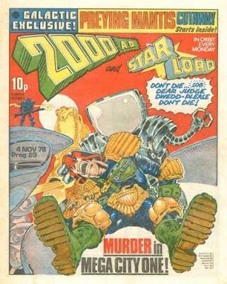 2000 AD, Prog 89, Judge Dredd