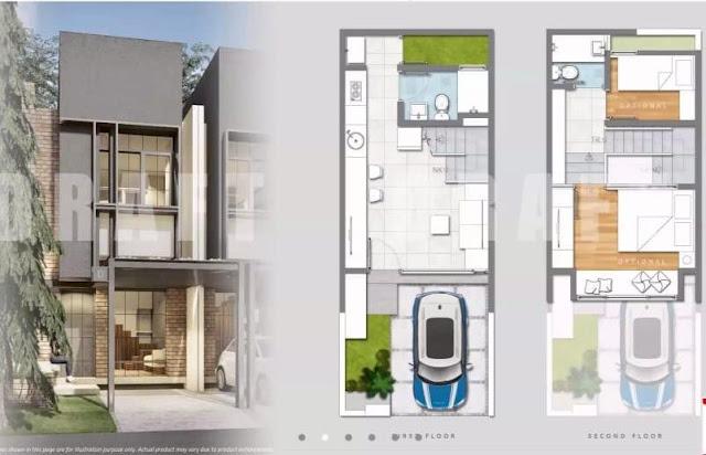 layout 4x10 freja house bsd