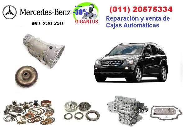 Reparación de caja automática MERCEDES BENZ ML 230 370