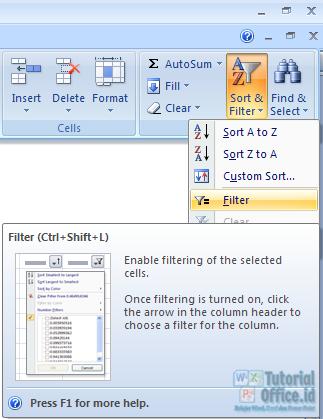 Filter Excel