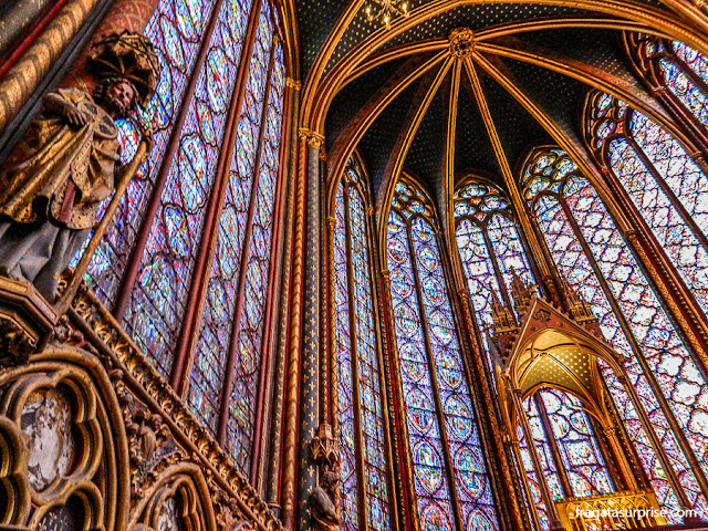 Vitrais da Sainte Chapelle, Paris