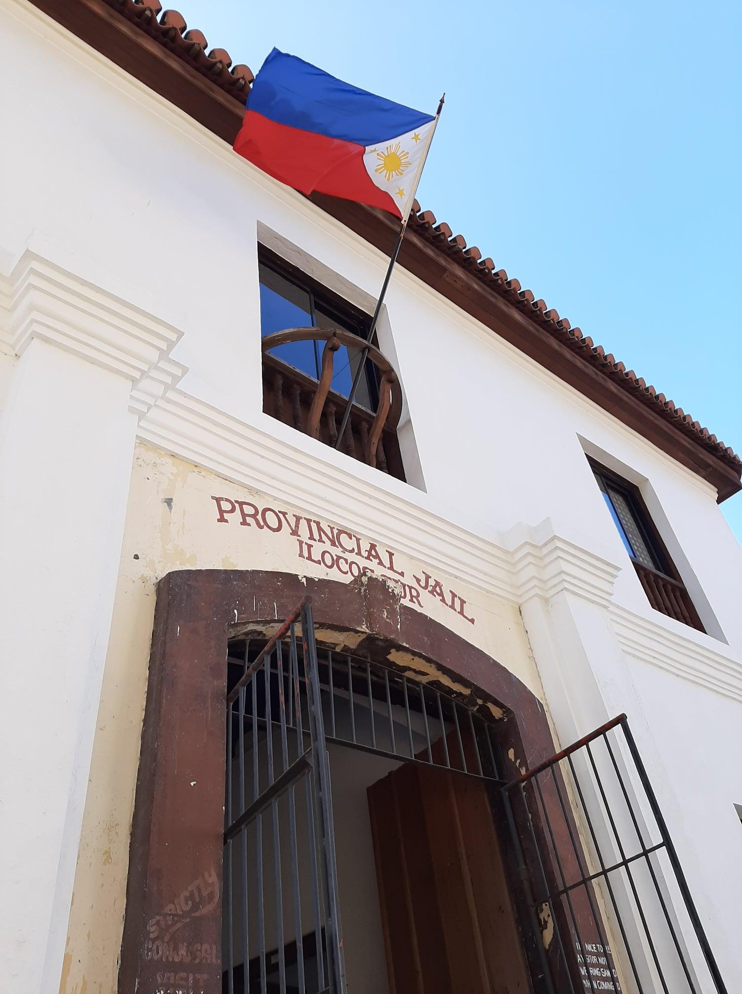 Old Provincial Jail of Ilocos Sur entrance