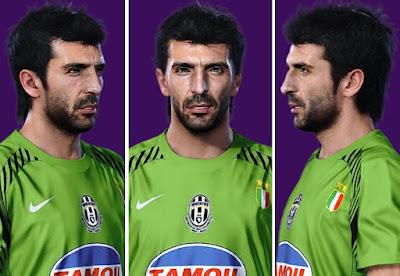 PES 2019 Faces Gianluigi Buffon 2004 by AliReza