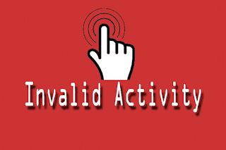 klik iklan sendiri adlah invalid activity yg dapat mem banned akun adsense anda