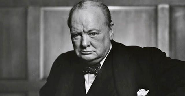 Winston Churchill, ex-primeiro-ministro britânico