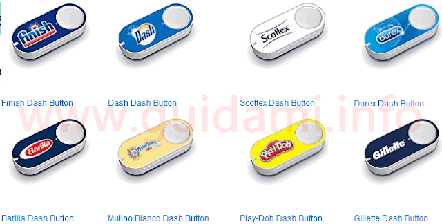 Pulsanti Amazon Dash Button