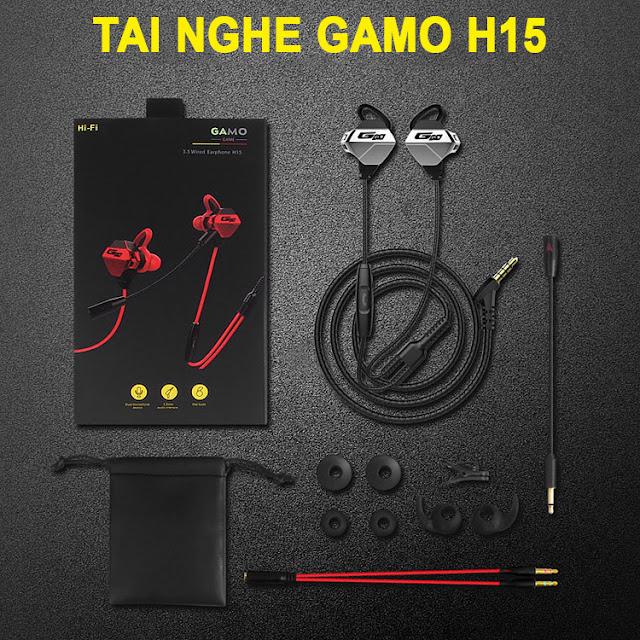 Tai nghe Gaming Gamo H15